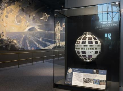 Telstar satellite on display