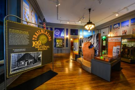 National Parks exhibition at National Postal Museum