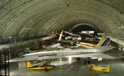 Udvar-Hazy Center Aviation Hangar Interior