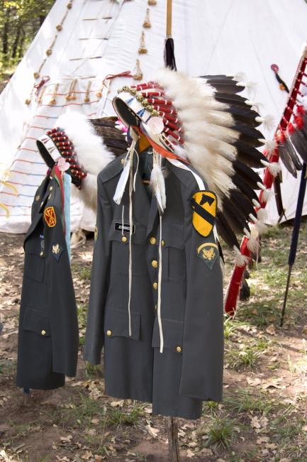 Kiowa veterans memorial