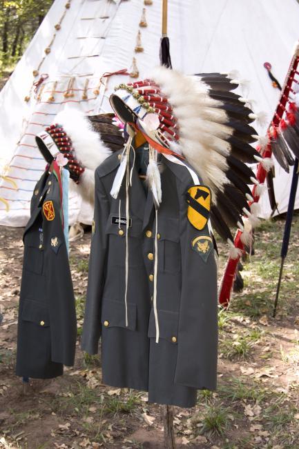 Kiowa veterans memorial