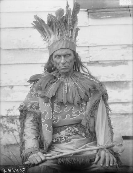 Brady in traditional dress