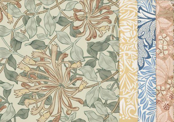 William Morris wallpaper sample book