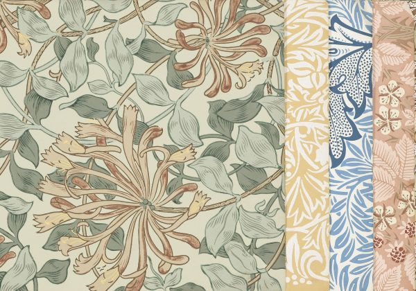 William Morris wallpaper sample book