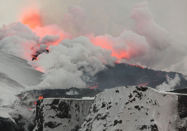 Iceland Volcano, National Museum of Natural History