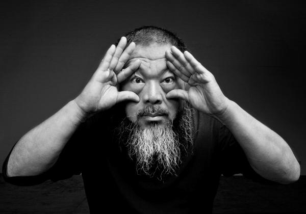 Portrait of Ai Weiwei. Image courtesy of Ai Weiwei Studio.