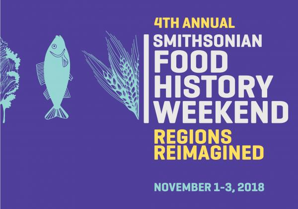 Food History Weekend poster