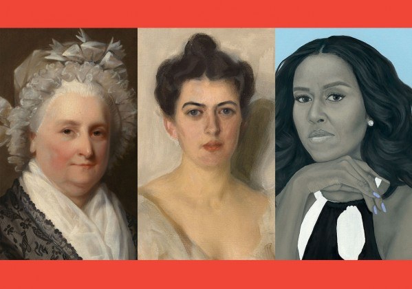 First Ladies portraits.