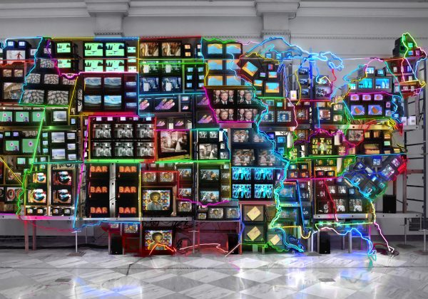 Nam June Paik - Electronic Superhighway