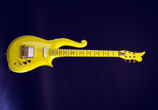 Yellow-could guitar