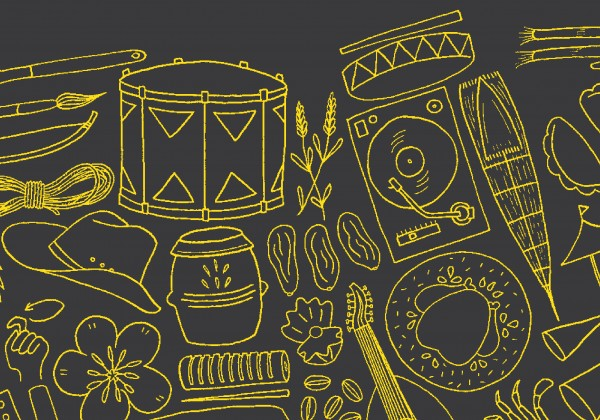 festival illustration.