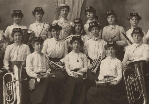 women's brass band