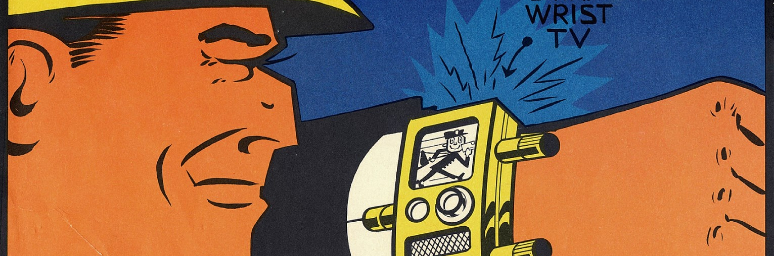 Dick Tracy comic poster