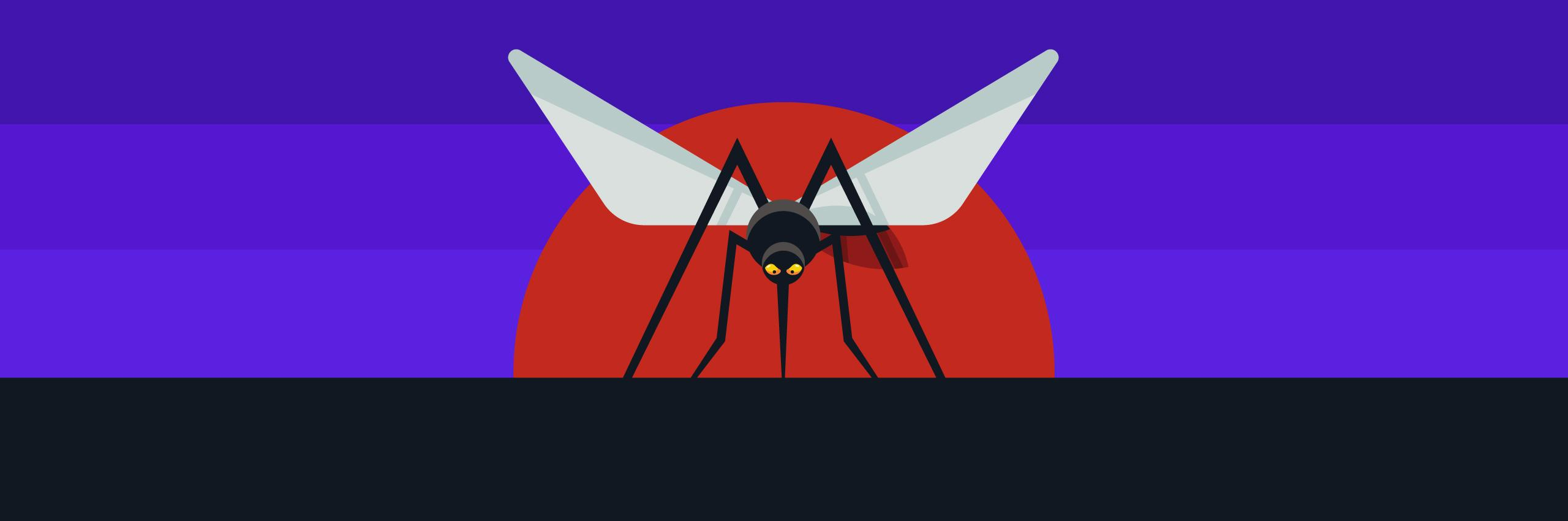 mosquito drawing