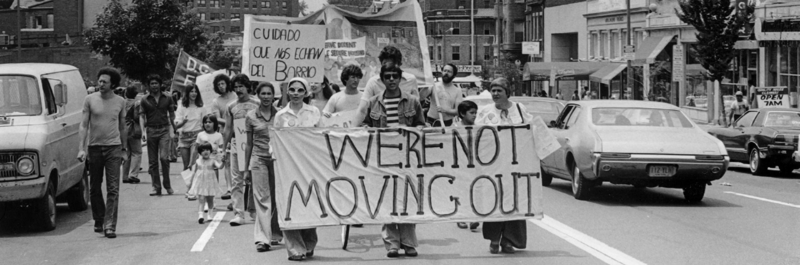Tenant Protest in Adams Morgan