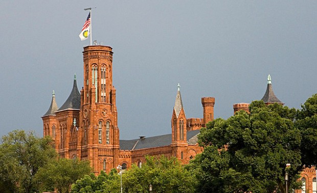 Smithsonian Castle exterior