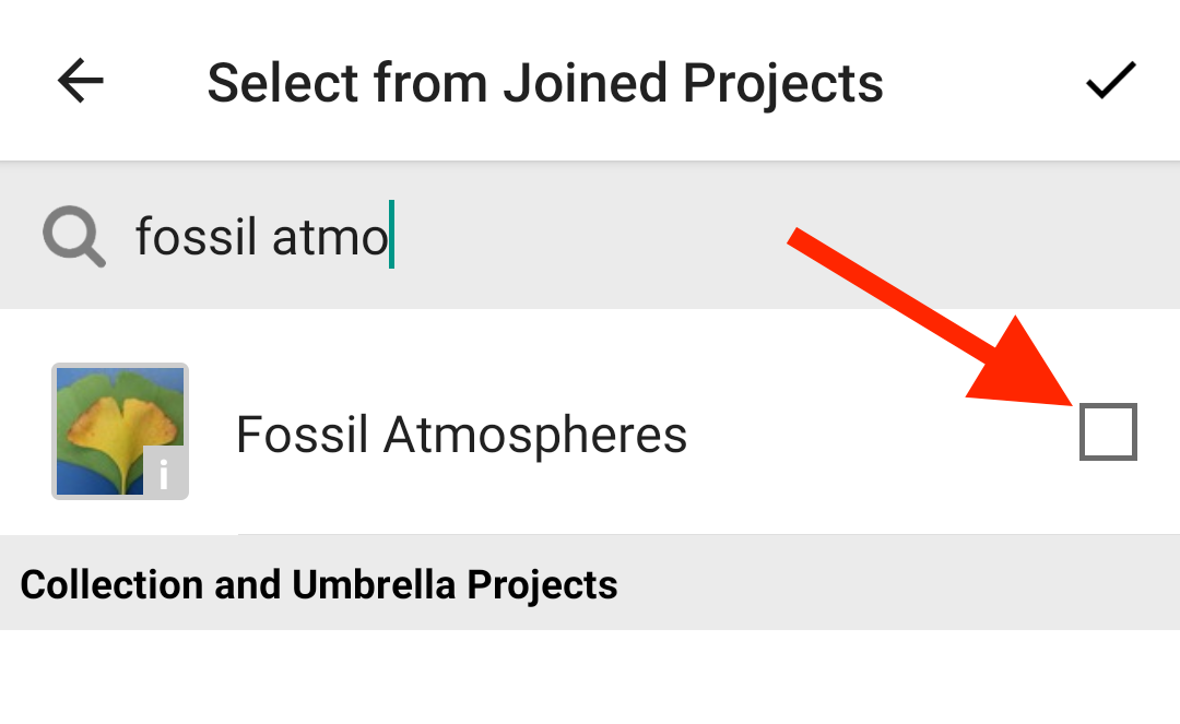 "Check the box next to ""Fossil Atmospheres""."